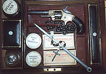 vampire hunters kit, cira 1850